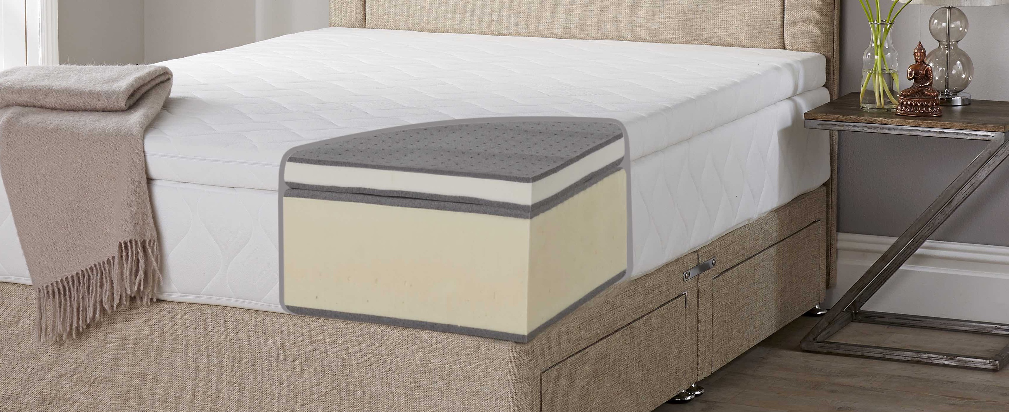 What Is In A Latex Mattress John Ryan By Design