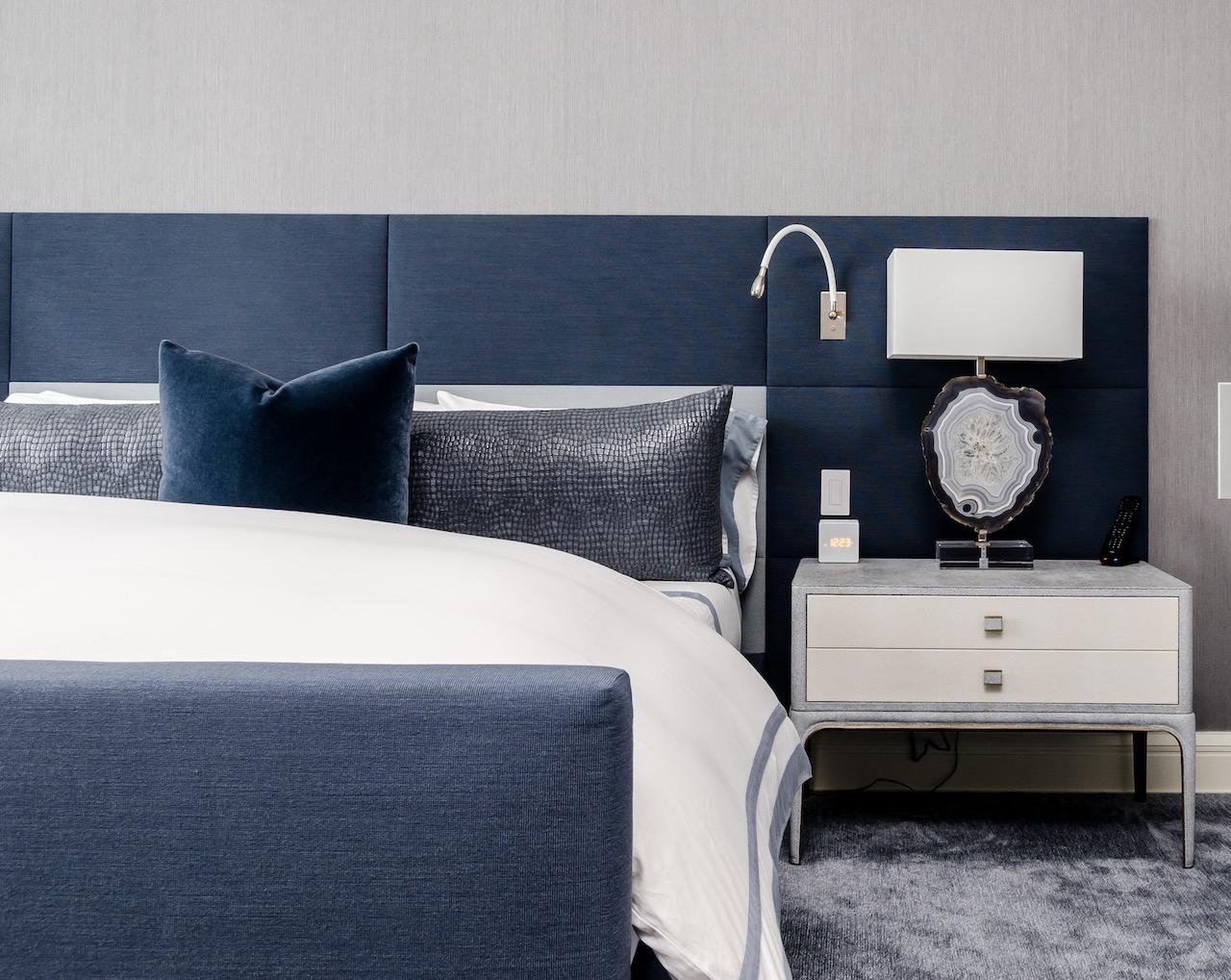 A tempur mattress in a bedroom