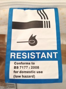 fire retardant john ryan by design label