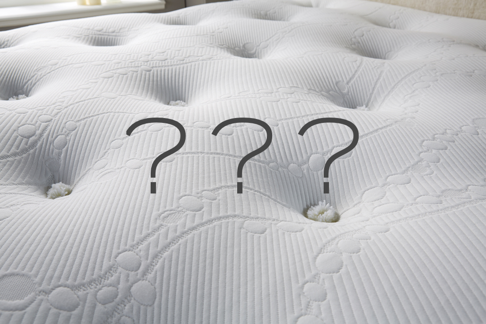 mattress comfort zones