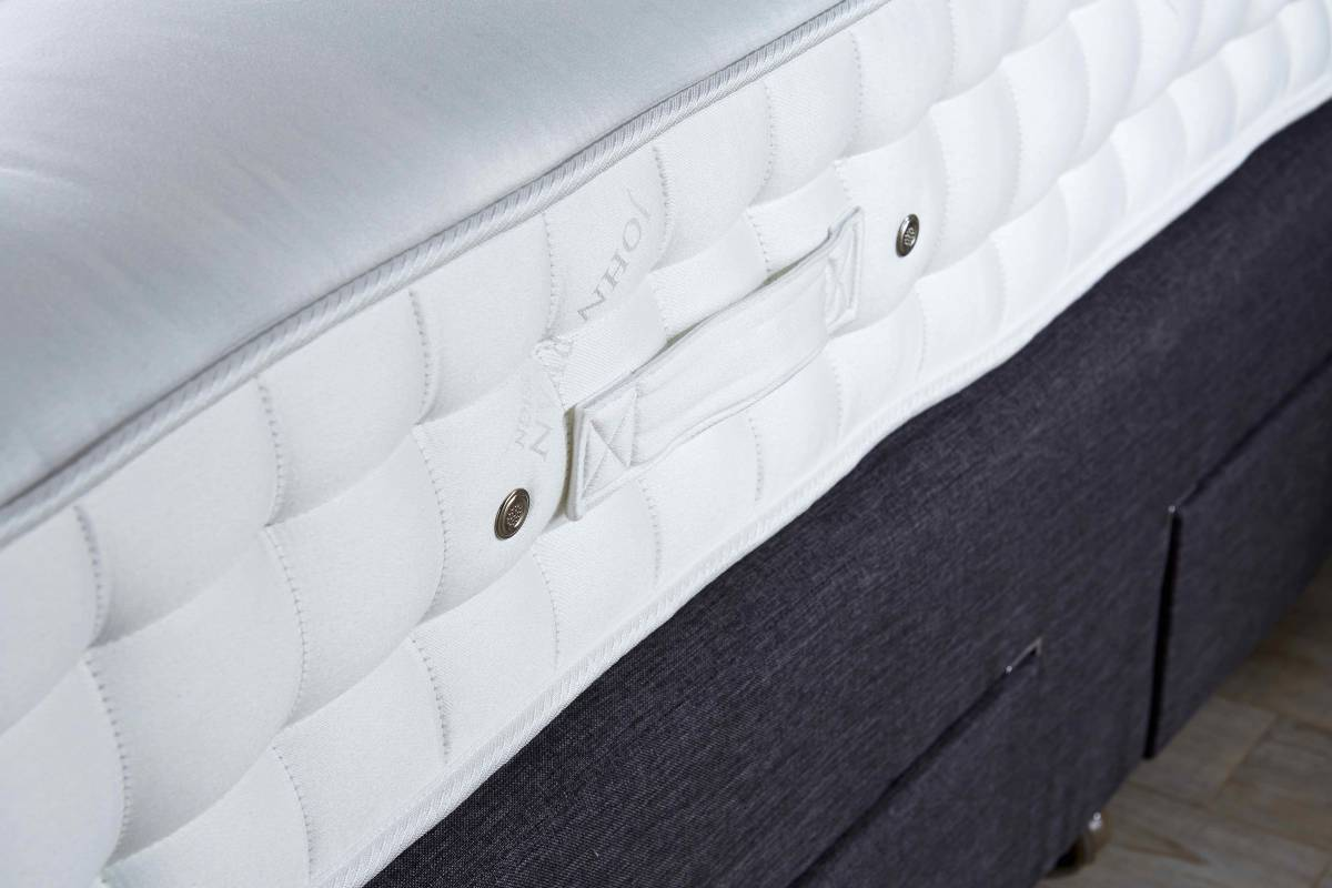 Luxury mattress close up