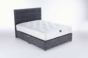 Charcoal Chenille Origins Mattress Base