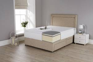 Fusion 2 luxury 100% latex mattress