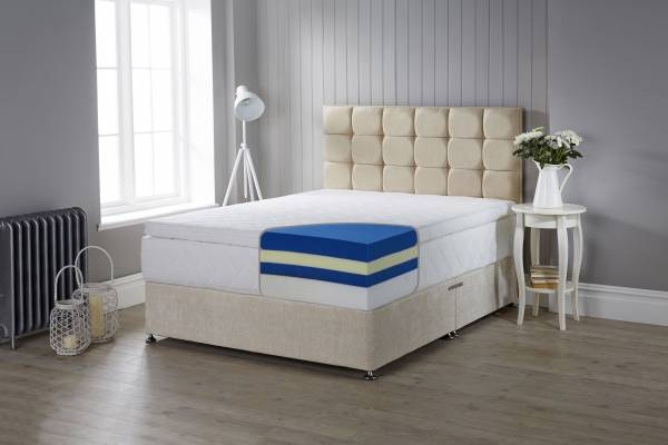 Hybrid foam mattress