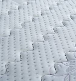 Origins latex mattress fabric details