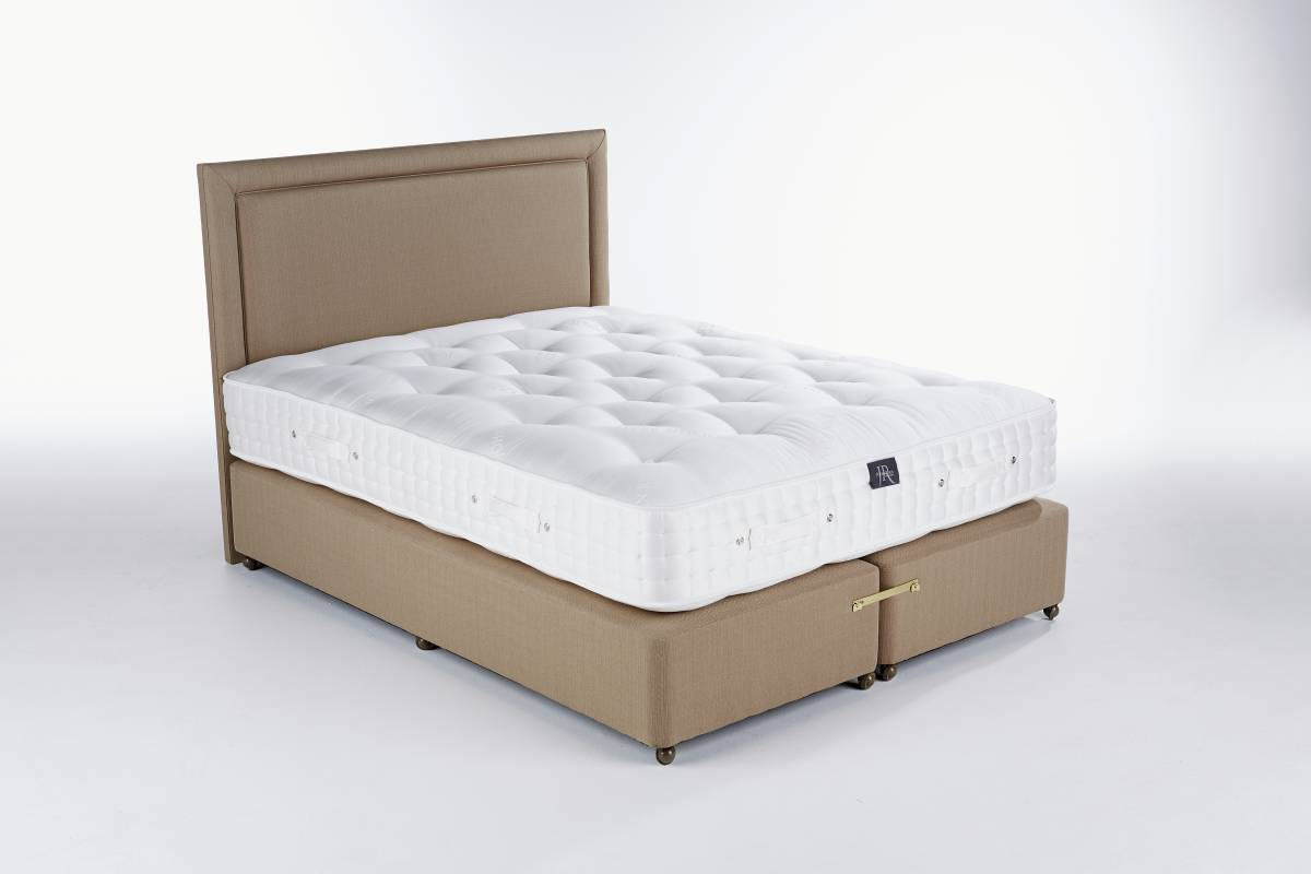 Taupe Hopsack Artisan Mattress Base