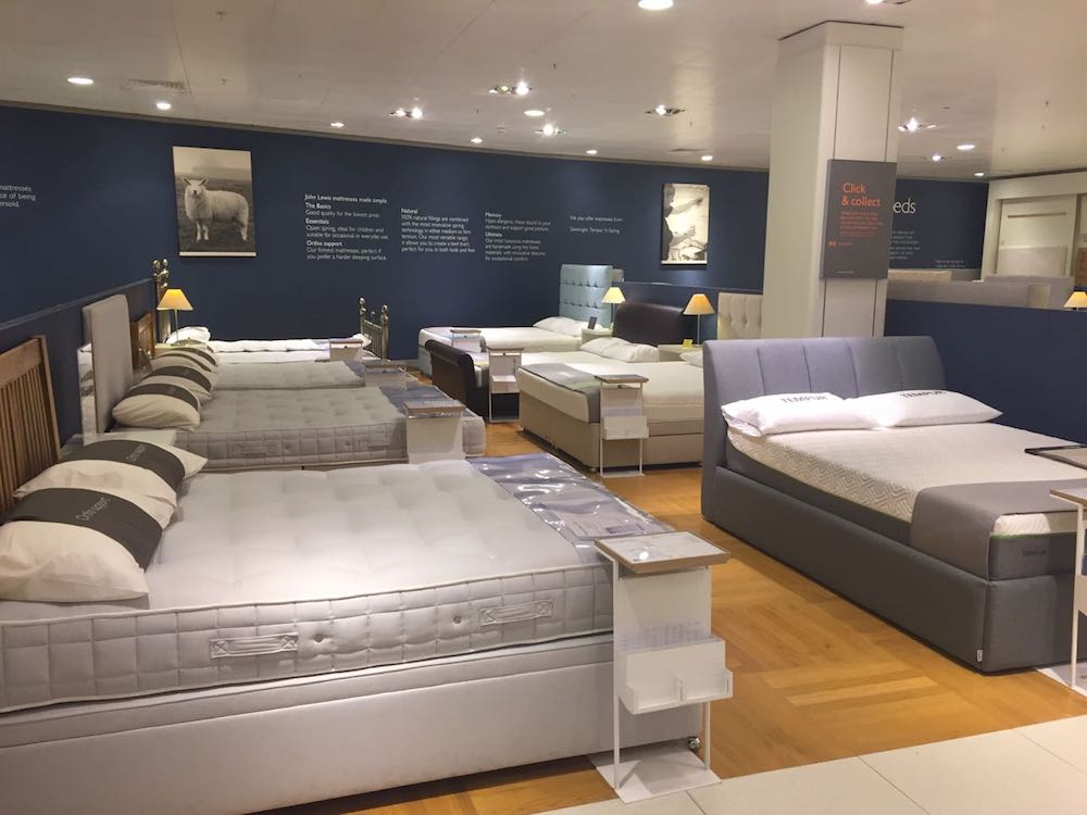 Luxury mattress retailer