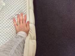 Premier inn hypnos mattress side panel