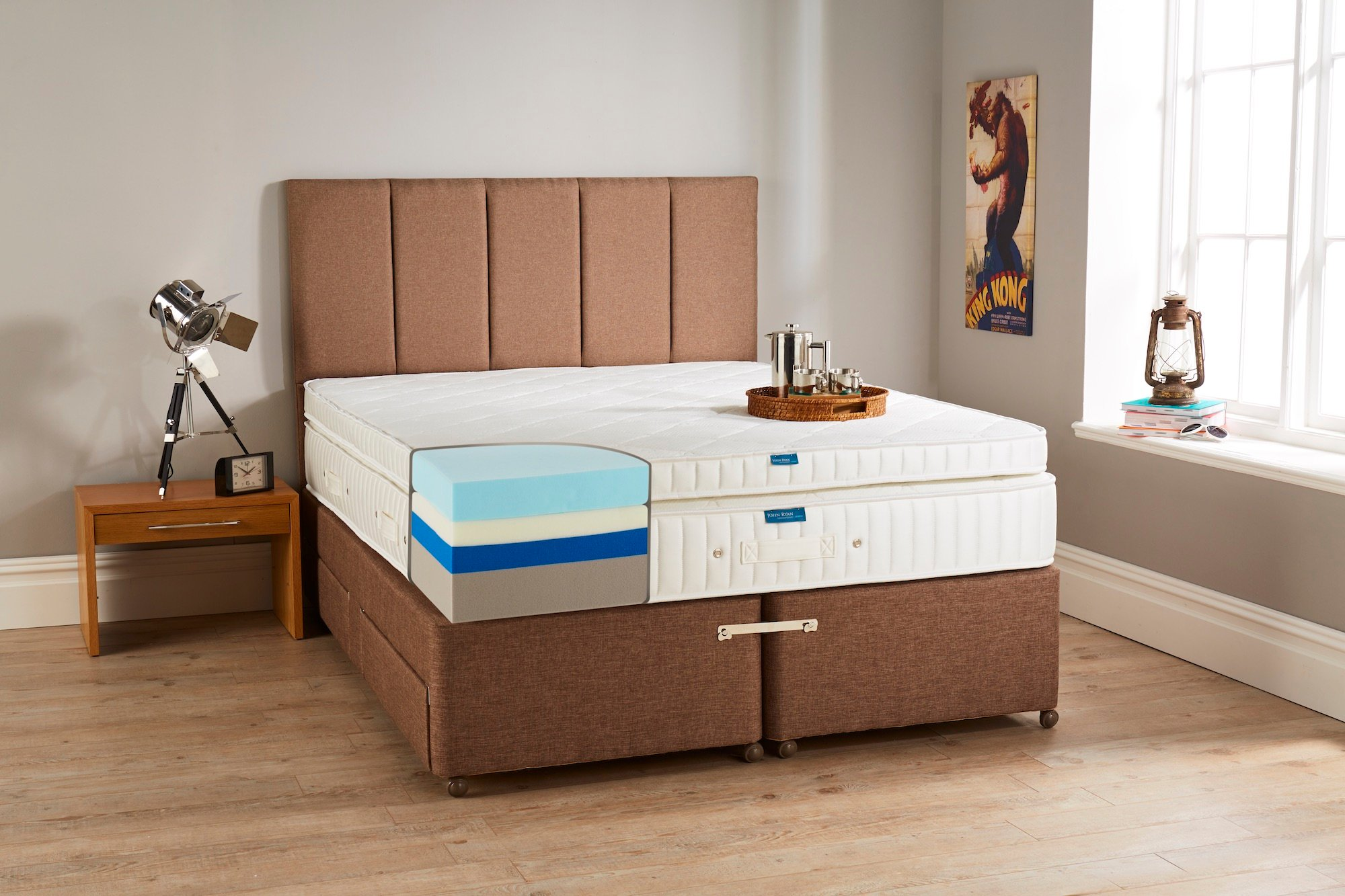 Hybrid 5 Luxury Foam Mattress John Ryan By Design Mattress Amp Bed Specialists