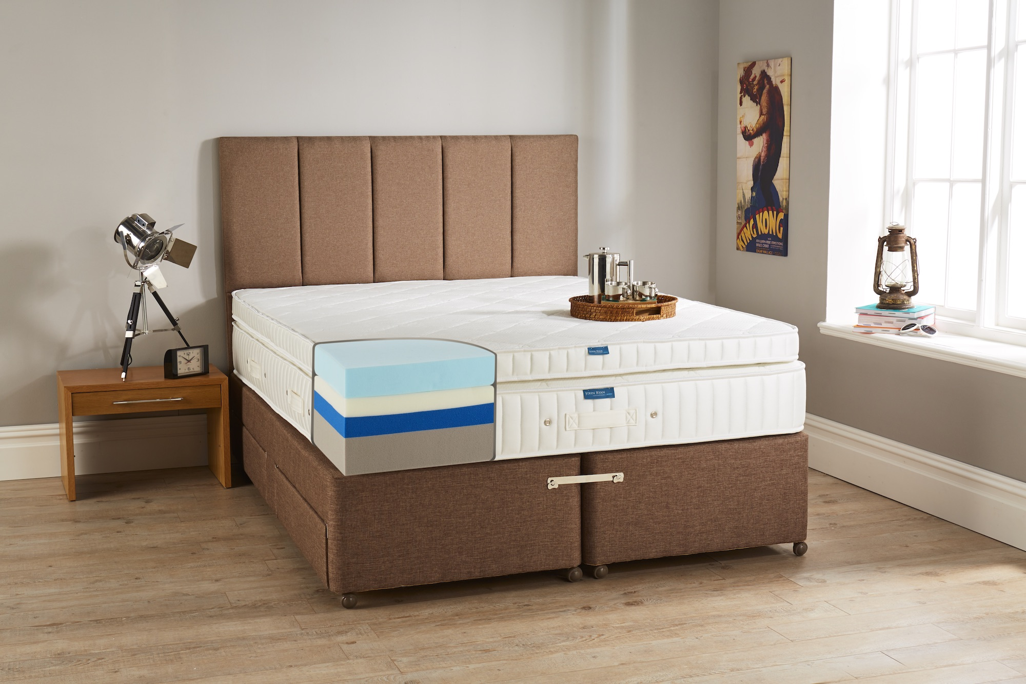 Hybrid 5 Luxury Foam Mattress John Ryan By Design