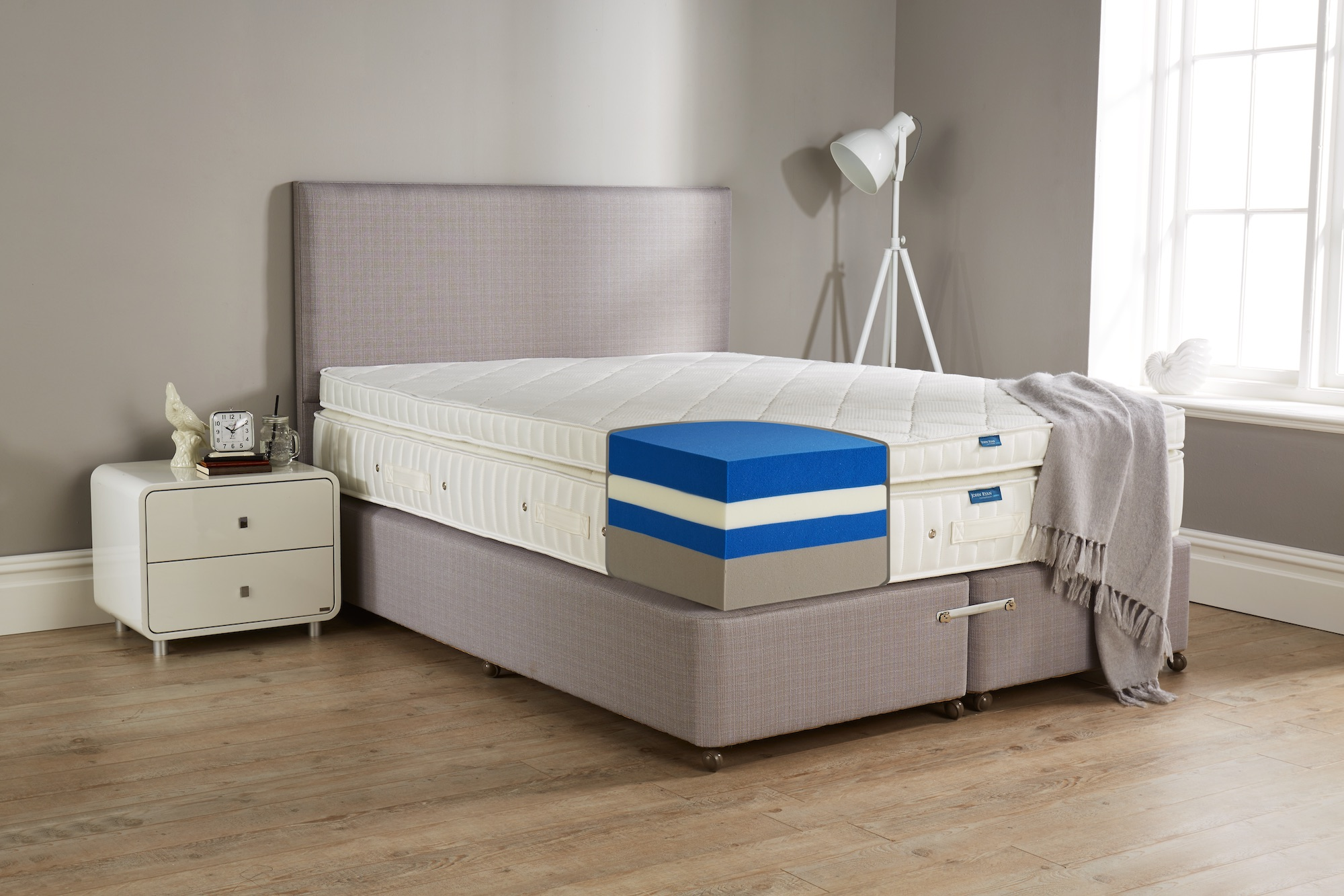 king ii plush mattress performance height plushking threshold hybrid item trim width copper t sealy products