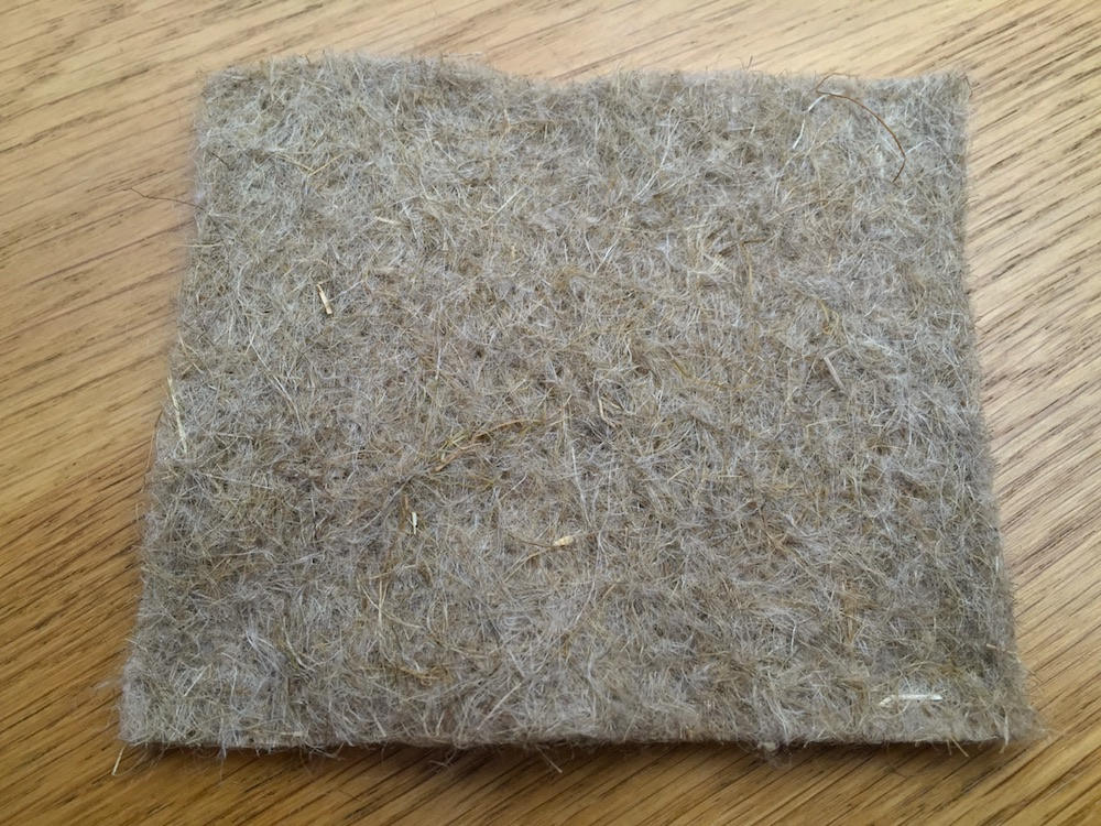 Natural flax fibre