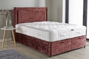 Aubergine Crush Ottoman Mattress Base