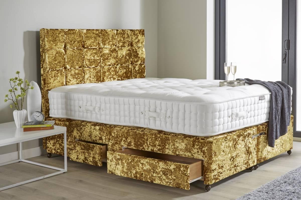 Contemporary Platform Divan John Ryan By Design Mattress Amp Bed Specialists