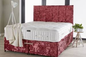 Pink Crush Sprung Mattress Base