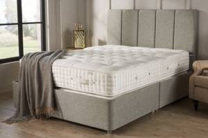 John Ryan Legacy York Stone Grey UK Natural Mattress Set 5