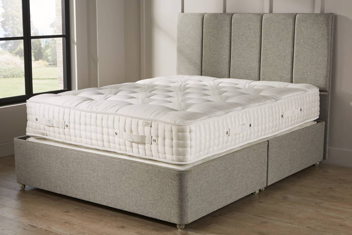 John Ryan Legacy York Stone Grey UK Natural Mattress