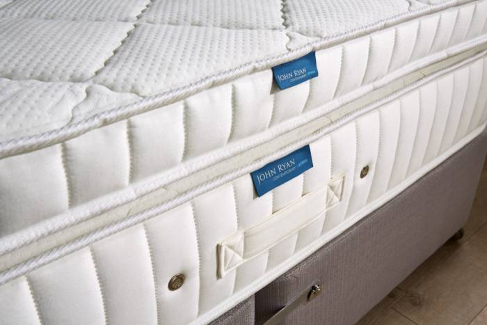 John Ryan Hybrid Mattress with topper
