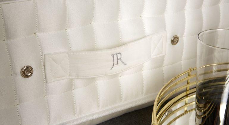 Close up of John Ryan Handles on Mattresses