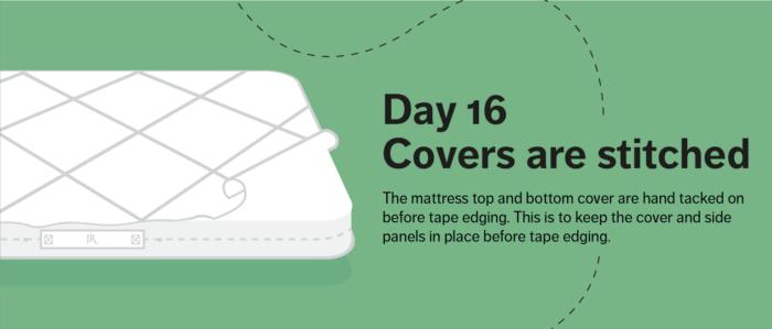 artisan mattress day sixteen