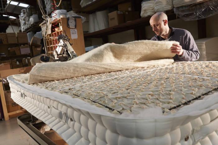 mattress upholstery layers