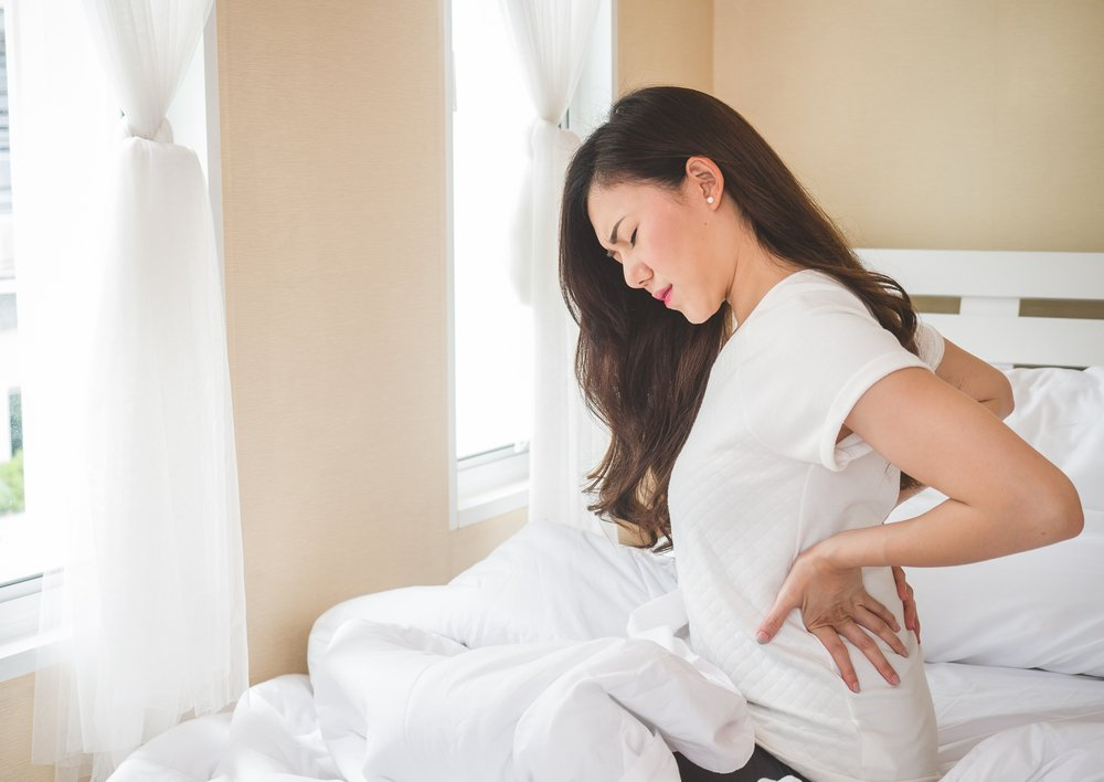 suffering with back pain