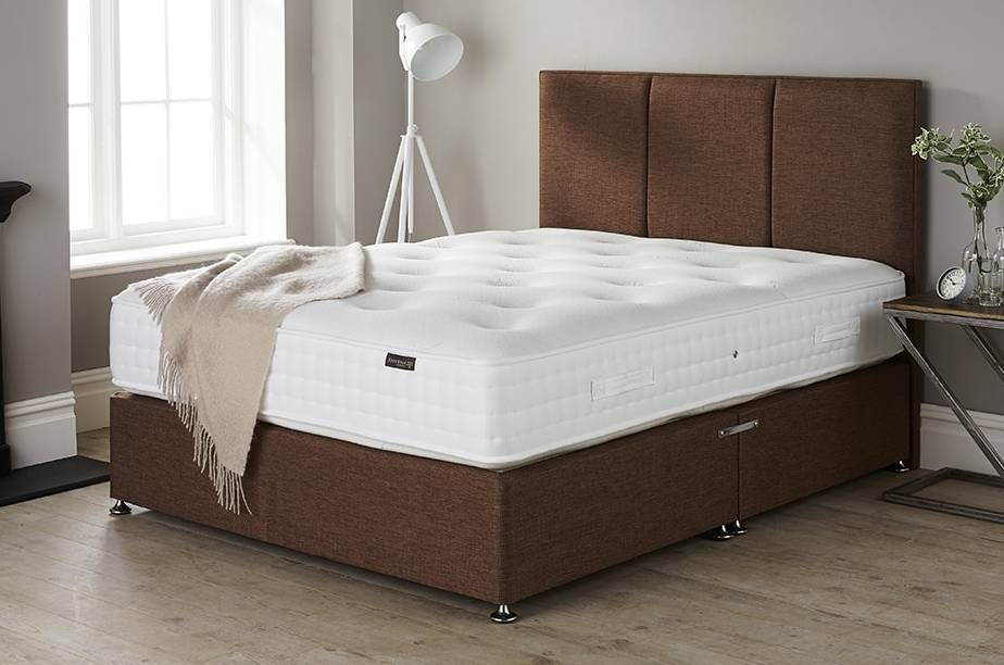 Origins comfort mattress on Cocktail Walnut Base