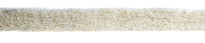 Bonded wool and cotton mattress fibres