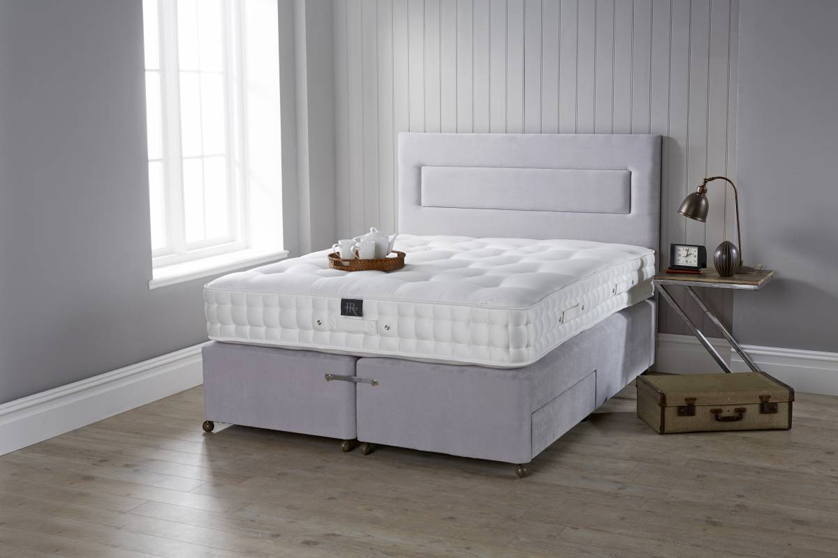 Tailored Pocket 2000 mattress on Flint Base