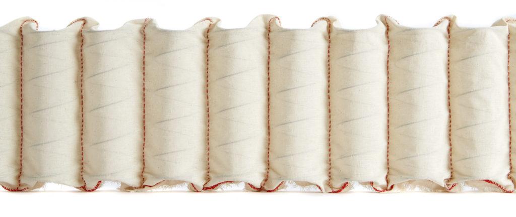 John Ryan Calico encased mattress springs