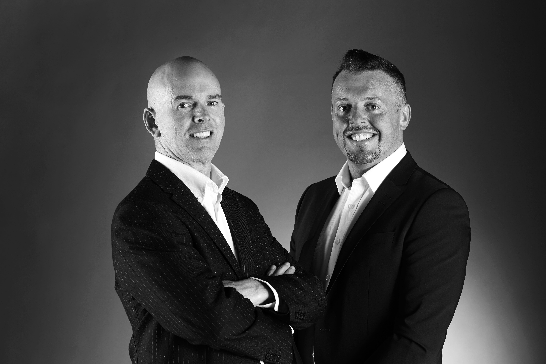 John and Ryan looking professional