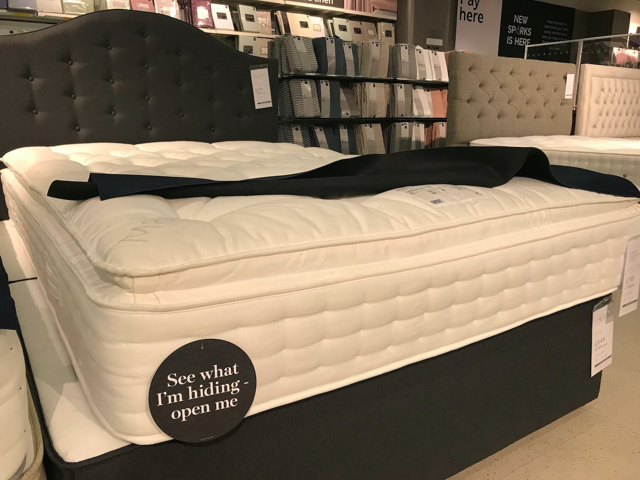 Marks and Spencers Pillow Top Mattresses