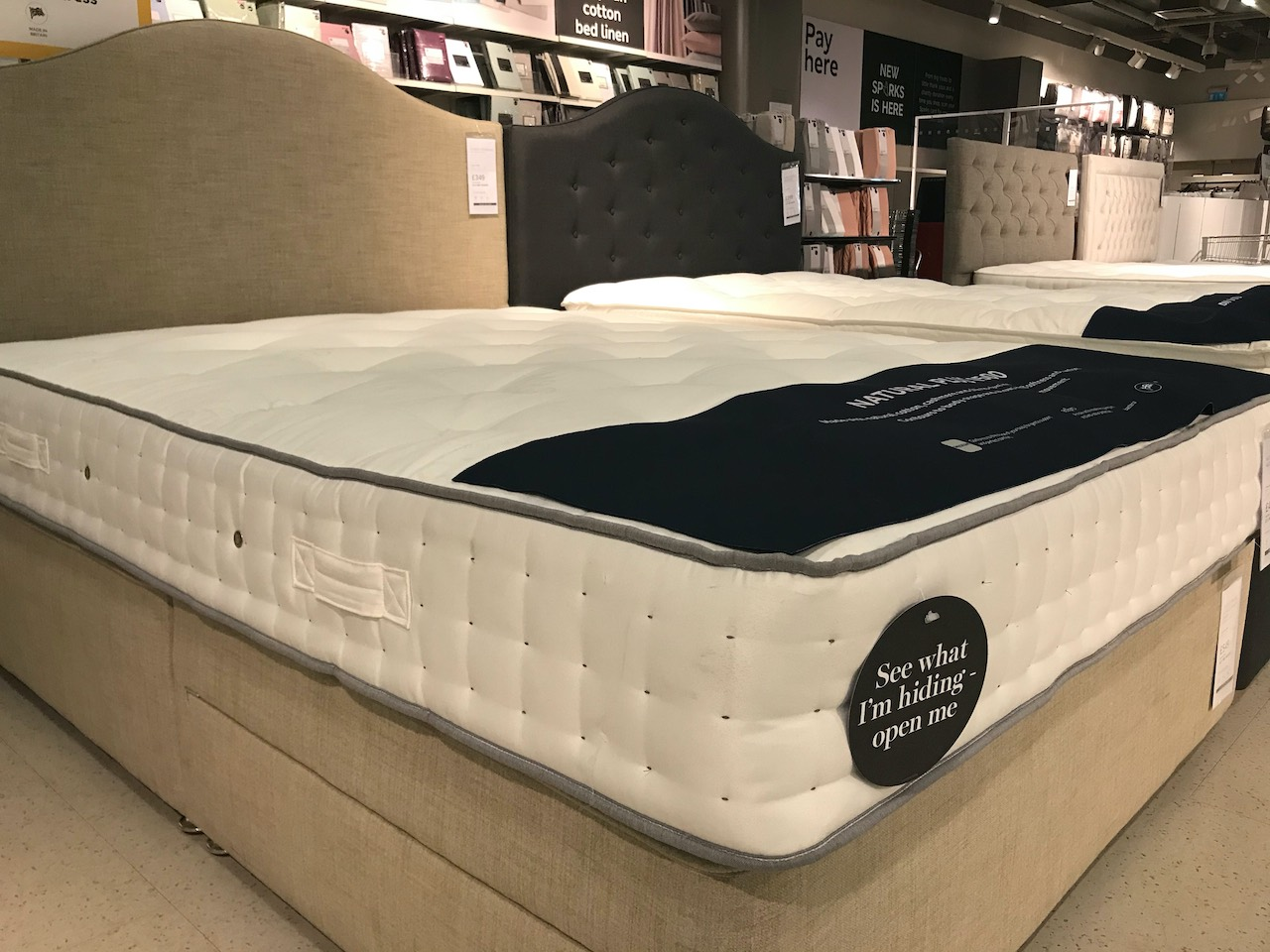 Marks and Spencer Natural Mattress reviewed