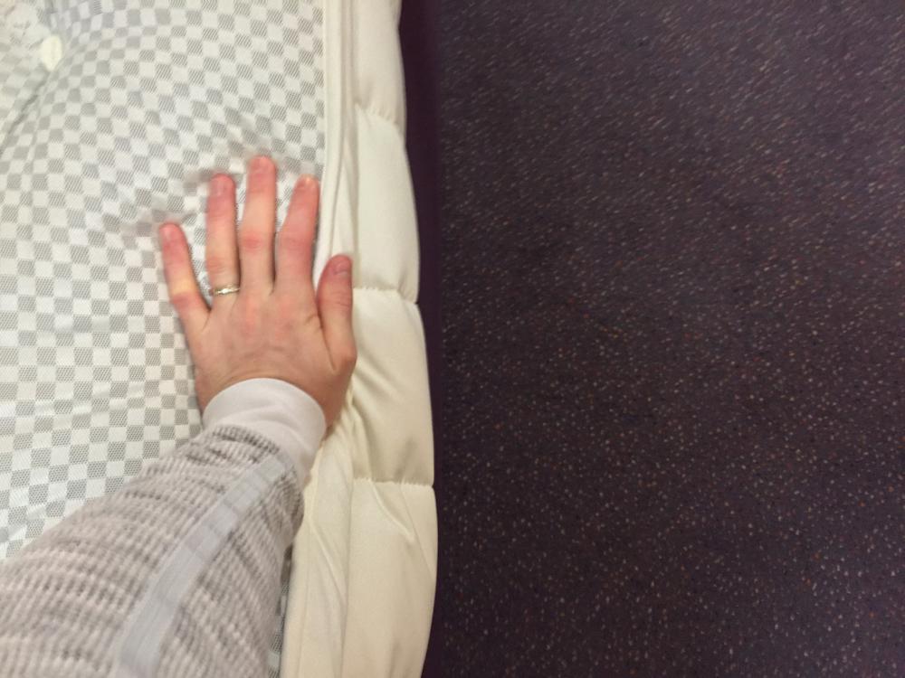 Bulging of the mattress side panel
