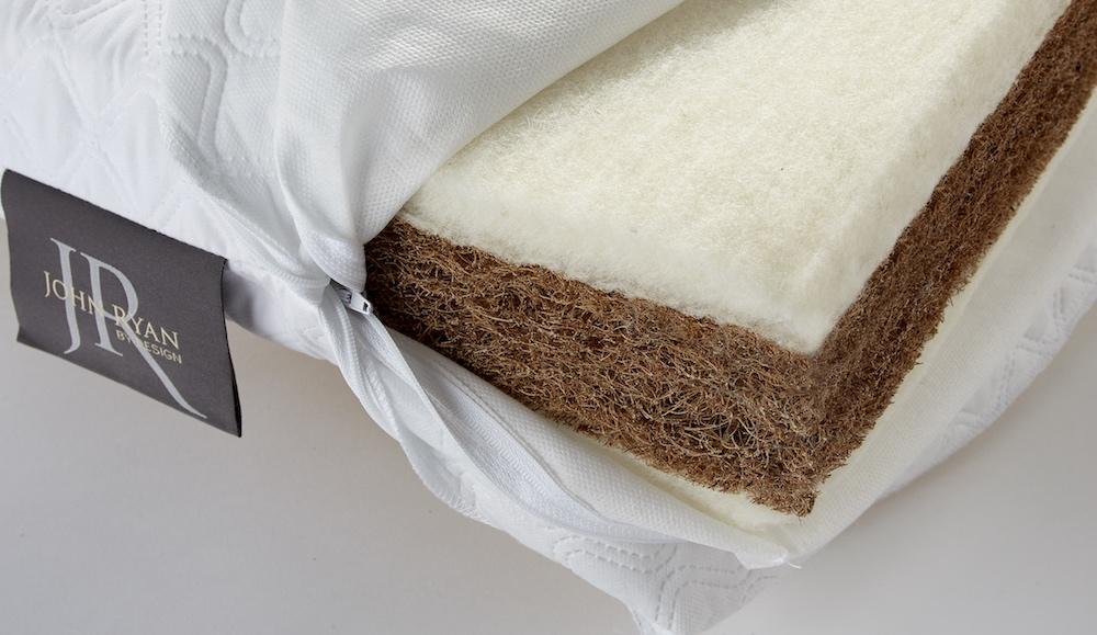 Plant fibres include Bamboo, Flax, Coir and Hemp