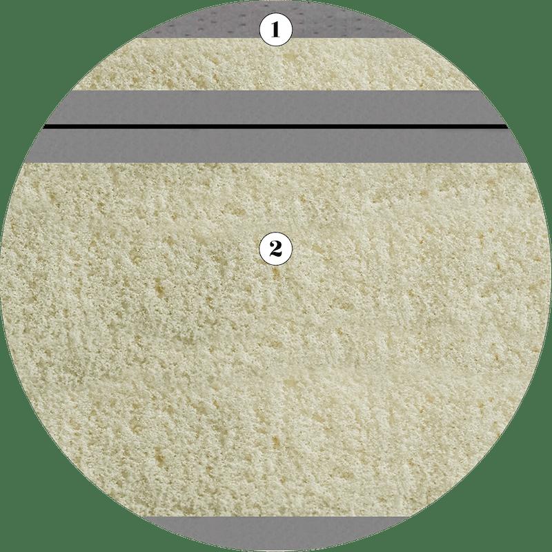 Fusion 3 100% Natural Latex Mattress