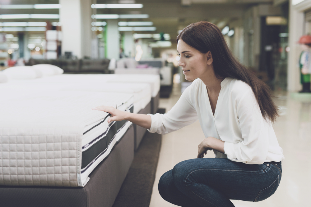 Mattress shopping in White top