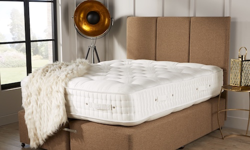 Most retail mattresses are built for upto 18 stone only