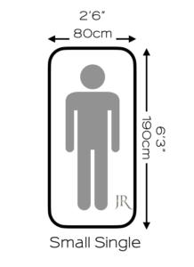 Small Single bed and mattress sizes UK