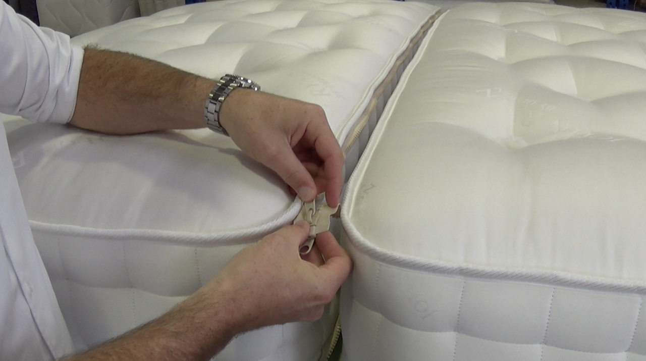 A zip and link mattress by John Ryan By design