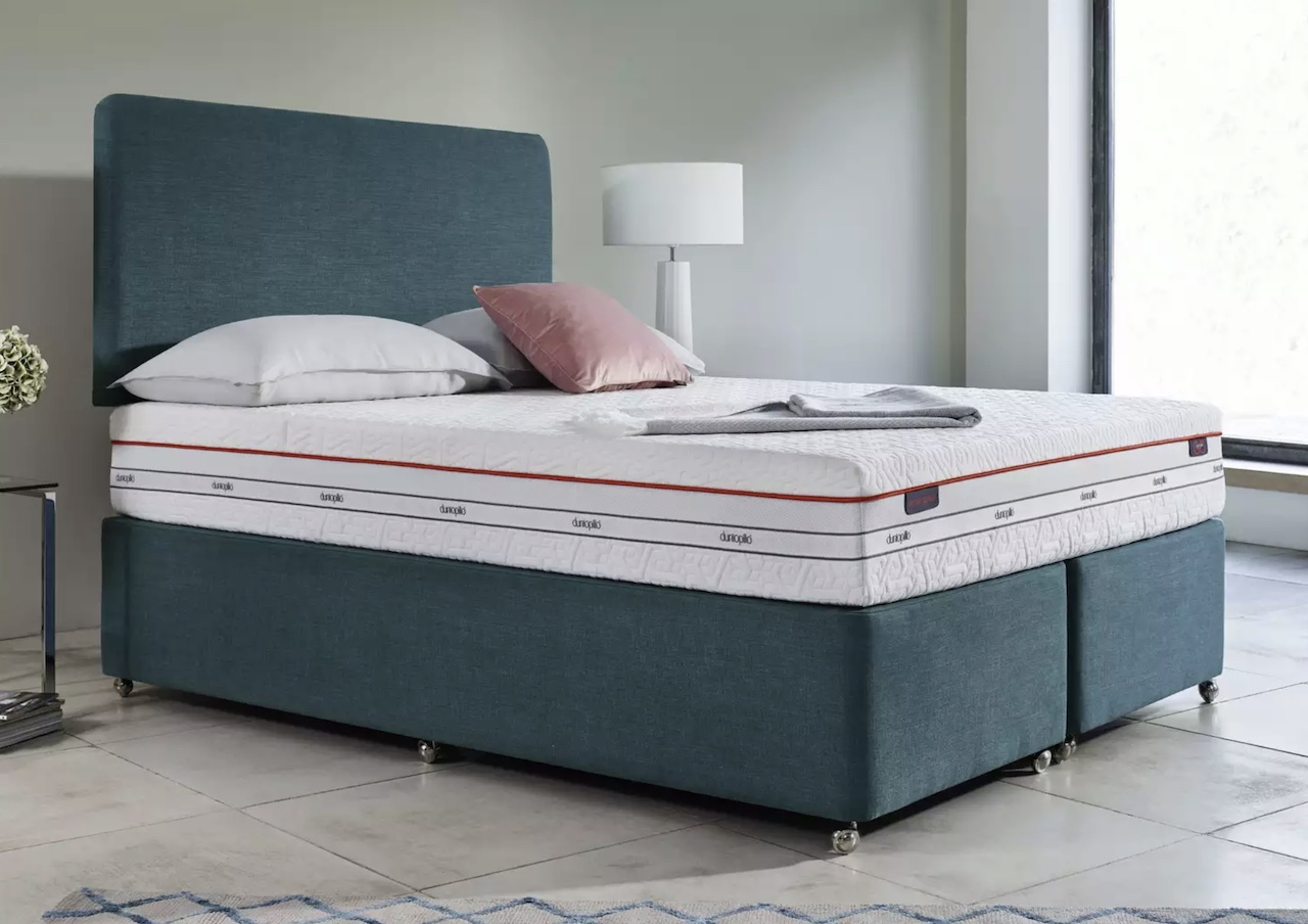 The Dunlopillo latex mattress