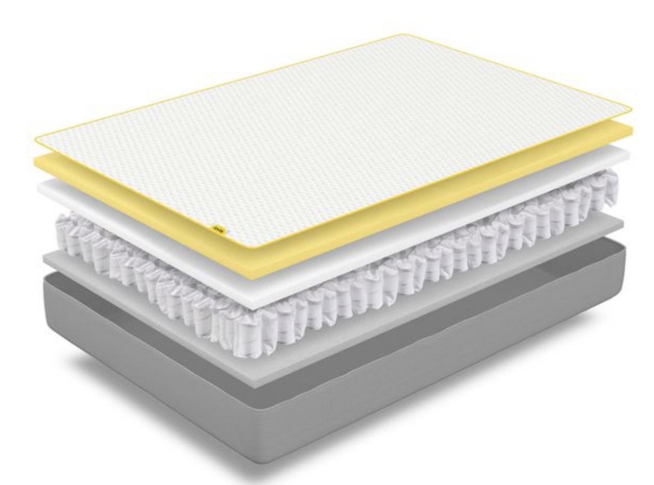 The Eve mattress hybrid cut away