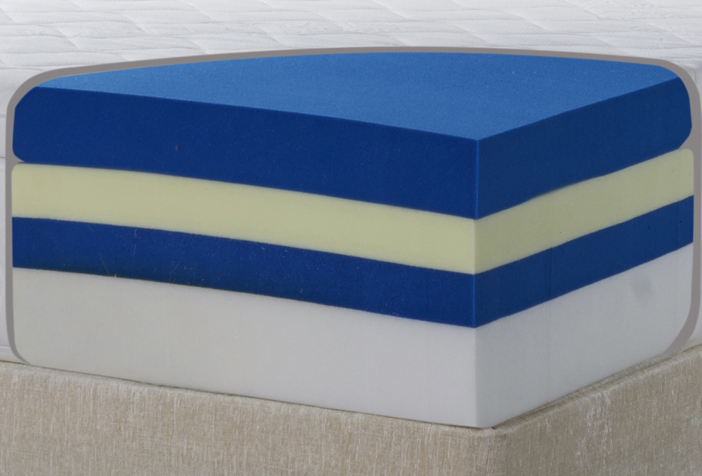 How are memory foam mattresses made