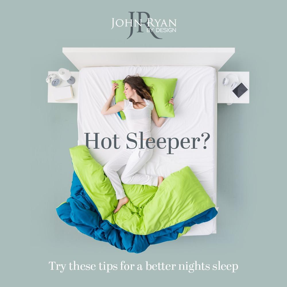 Hot sleeper memory foam mattress