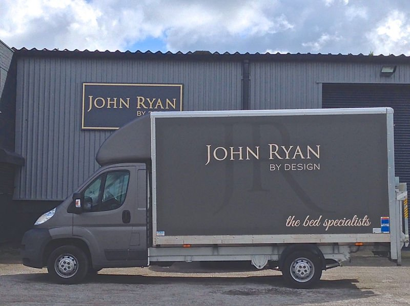 John Ryan By Design Delivery van