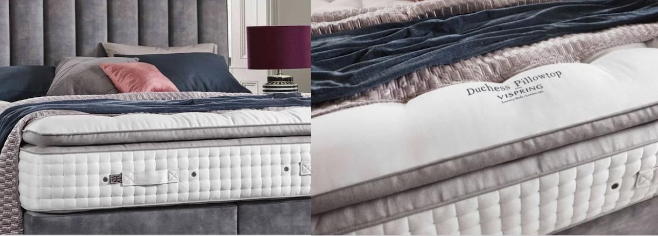 Vispring duchess pillowtop mattress reviewed